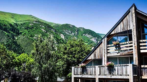 Hotel vue montagne